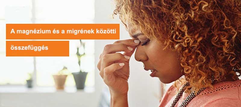 A migrén összefügg a magnéziumhiánnyal