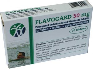 Flavogard 50 mg Tablet with Pycnogenol