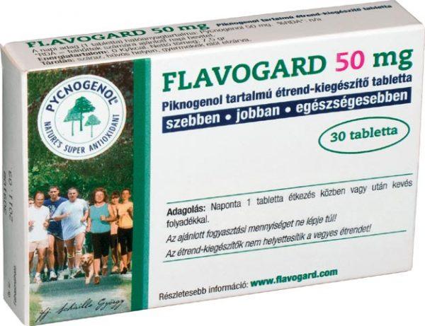 Flavogard 50 mg tabletta