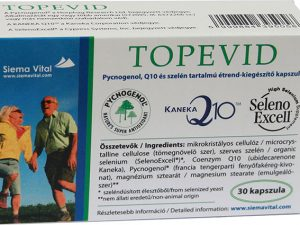 Topevid Capsule with Pycnogenol, Q10, and Selenium