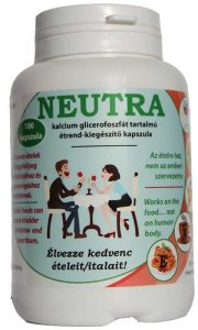 Neutra-Removes Acids from Foods and Drinks