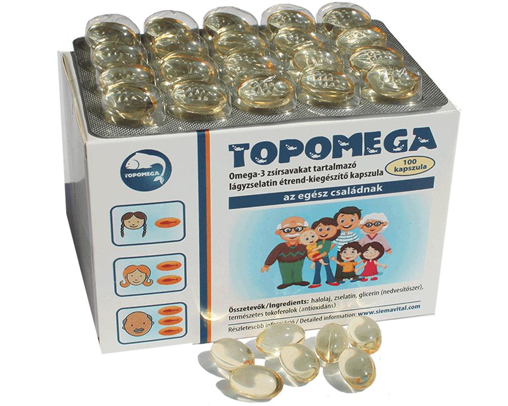 Topomega: Omega 3 az egész családnak