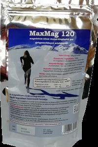 MaxMag 120 magnézium-citrát italpor