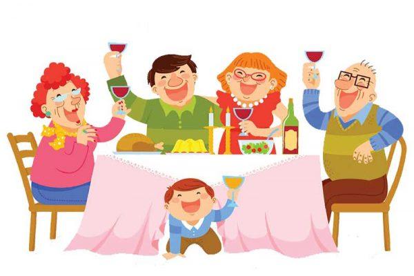 Neutra-család-vacsora